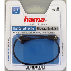 Hama 6980 PC/PC Blitz synch kabel 0,2m