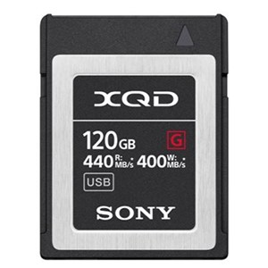 Sony XQD 120GB G Serie (Read 440MB/S Write 400MB/S)