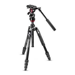 MANFROTTO Befree Advanced Live Twist Alu Svart (Video)
