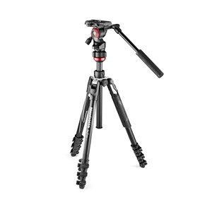 Manfrotto Stativkit Video Befree Live Alu. Svart