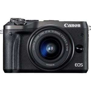 Canon EOS M6 m/15-45 IS STM  Black