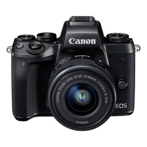 Canon EOS M5 m/15-45 IS STM  Black