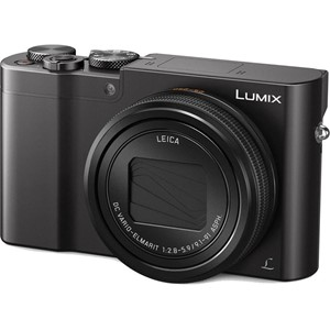 Panasonic LUMIX TZ100 sort