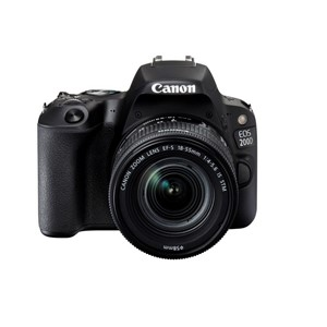 Canon Eos 200D/ 18-55 is STM
