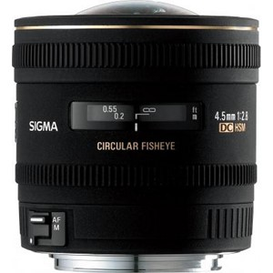 Sigma 4,5mm Cir Fisheye DC canon