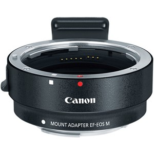 Canon EOS M EF-adapterring