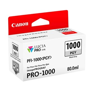 Canon blekk PFI PGY 1000 Photo gray (Pro 1000)