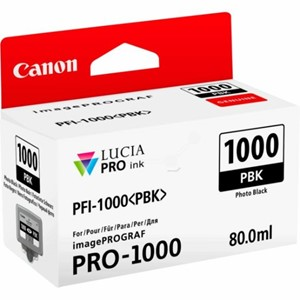 Canon blekk PFI PBK 1000 Photo Black (Pro 1000)