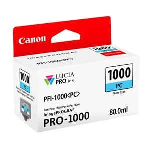 Canon blekk PFI PC 1000 Photo Cyan (Pro 1000)