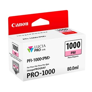 Canon blekk PFI PM 1000 Photo Magenta (Pro 1000)