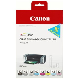 Canon CLI42 Multipack BK/GY/LGY/C/M/Y/PC/PM