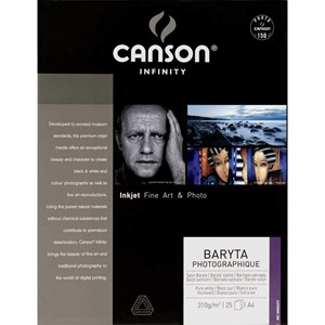 Canson Baryta Photographique 310msg A4 X10