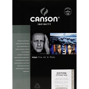 Canson Edition Etching RAG 310g A2 x25