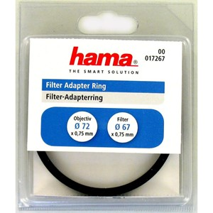Hama Step Ring 72-67mm (Step-Down)