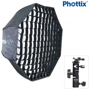 Phottix Easy Up HD 80cm Umbrella Octa Softbox with Grid-Varo